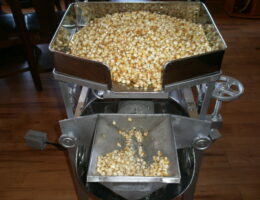 Milling the corn